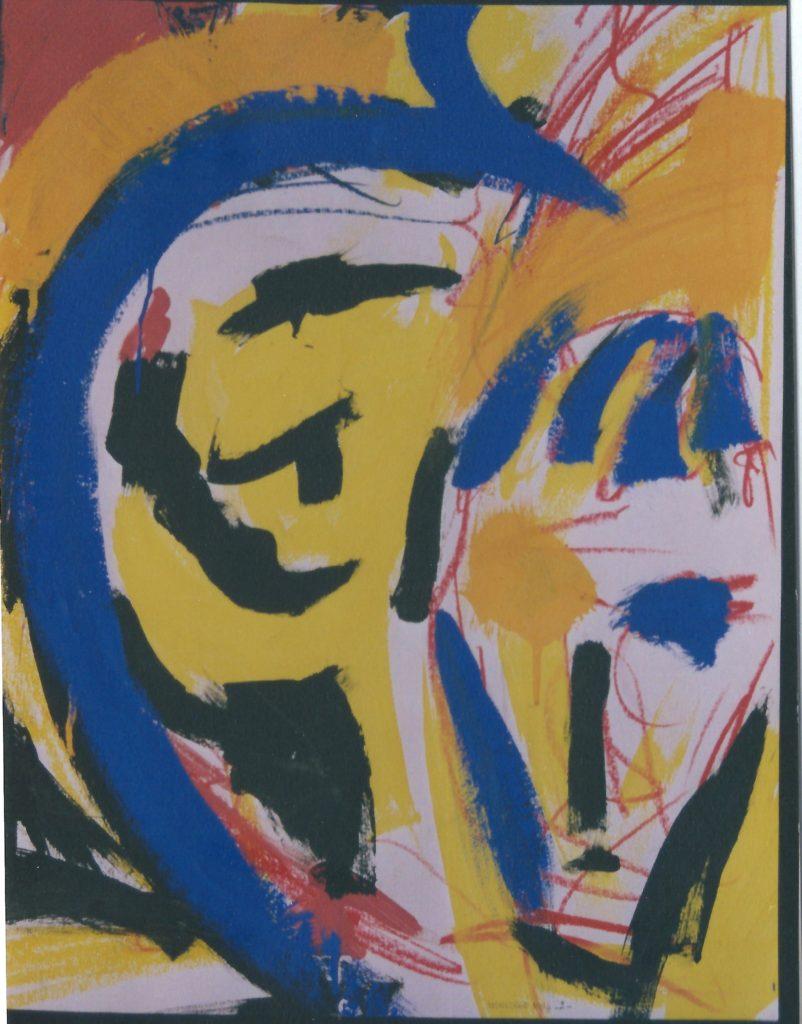 """1996 : Exposition dans le cadre de la """"Journée de la femme"""" à Yzeurespace (Allier)."""