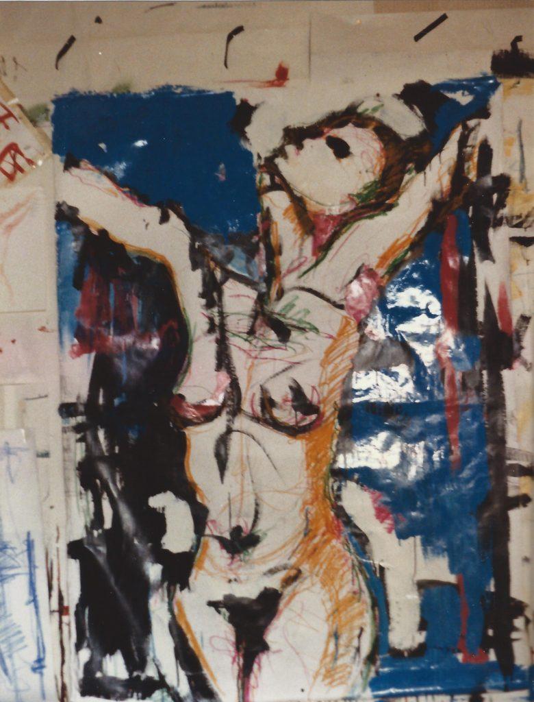 """1990 : Exposition au Centre Culturel Athanor, """"Galerie d'Aujourd'hui"""", à Montluçon. Allier."""