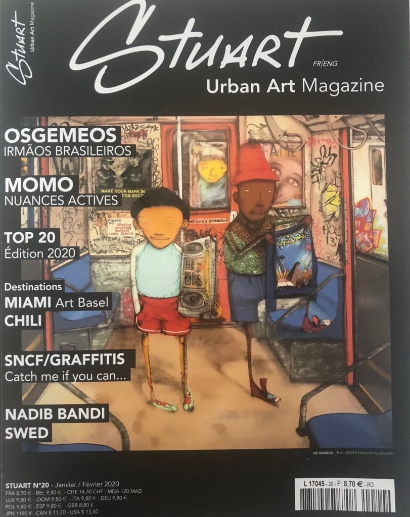 thumbnail of STUART MAGAZINE URBAN ART MAGAZINE Parution en page 16. 2020